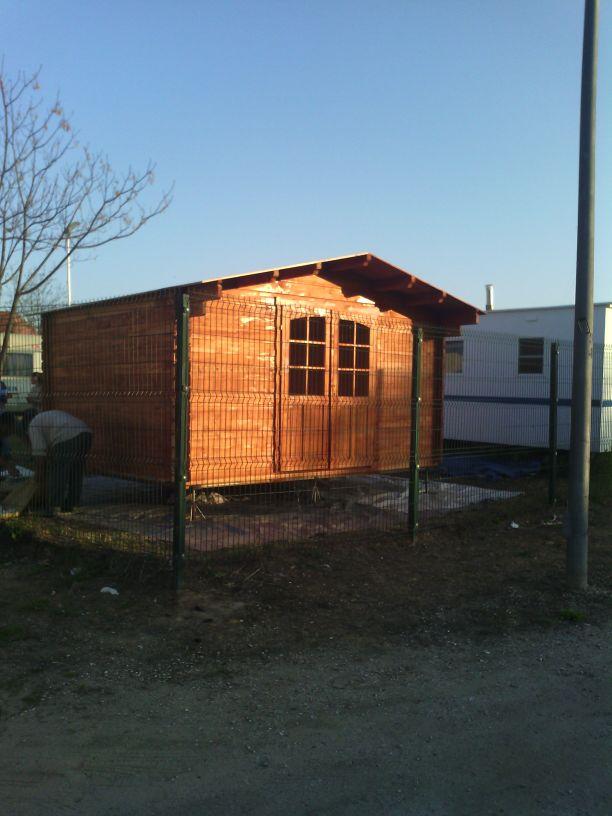 Caseta de madera c diz barata en varias medidas desde 1995 euros tucaravana - Casas de madera en cadiz ...