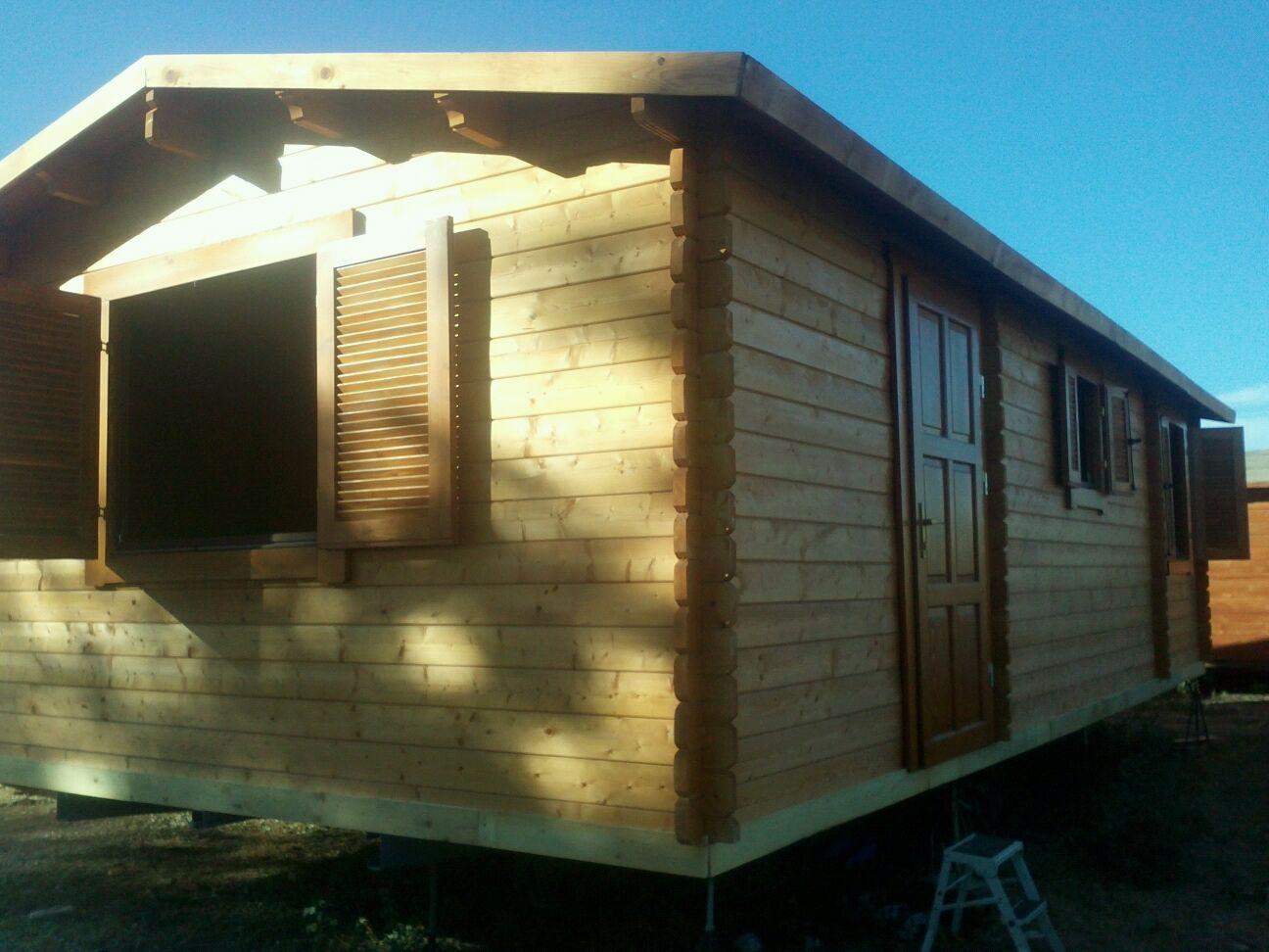 Casa movil de madera c diz de 9 5 metros tucaravana - Casas de madera cadiz ...