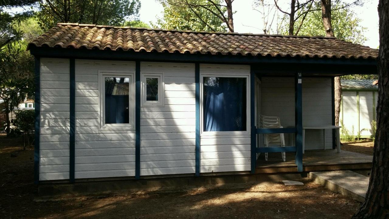 Casa prefabricada c diz de canexel de 38 m2 color azul - Casas prefabricadas canexel ...