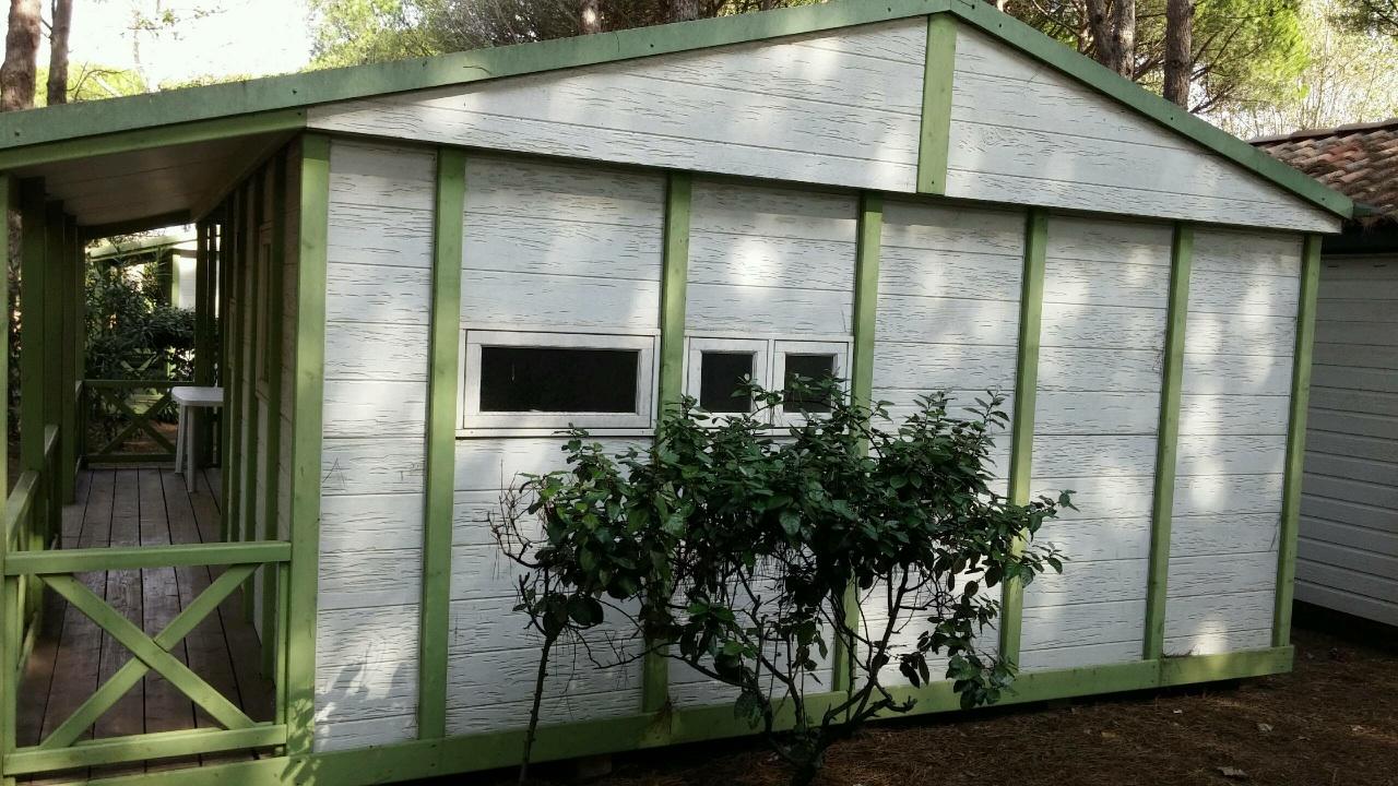 Casa prefabricada sevilla de canexel de 39 m2 color verde - Precio casas canexel ...