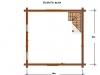 4 X 4 PLANTA ALTA + porche = 39 m2