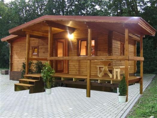 Exclusivos y unicos mobil homes de madera y casas - Casas de madera pequenas y baratas ...