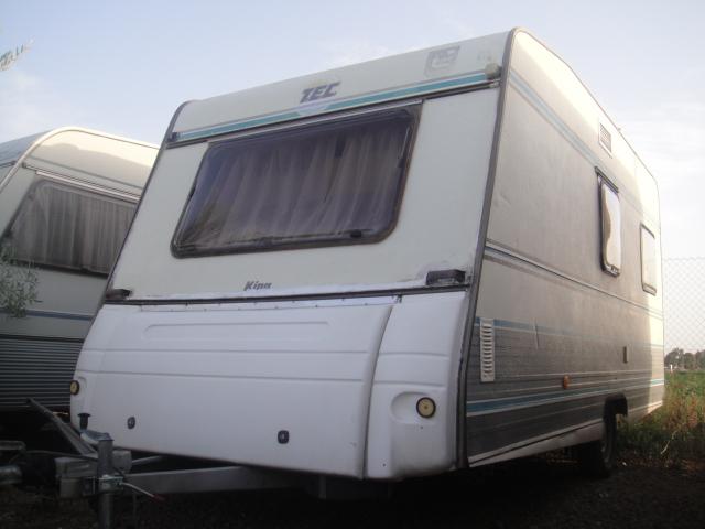 ¡¡Más rebajas!! Caravana barata de ocasión en Sevilla, marca TEC  – VENDIDA