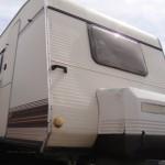 EXT 1 CARAV. + ANT. 150x150 !! Gran oferta por traslado !!  Más de 25 caravanas sin documentación para dejar fija desde 1.390 eruos.