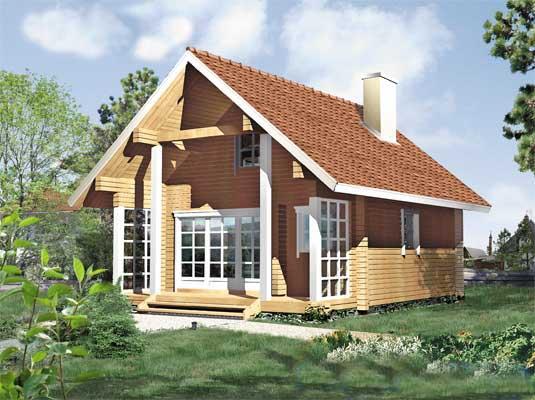 Casa de madera Cádiz en 5 medidas desde 9.995 euros la de 39 m2.