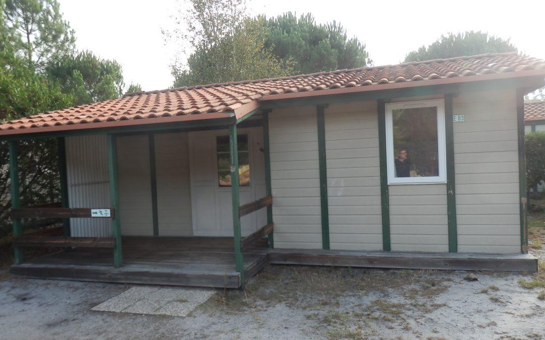 Casa prefabricada barata malaga de canexel de 45 m2 color marron tu caravana caravanas de - Ocasion casa malaga ...