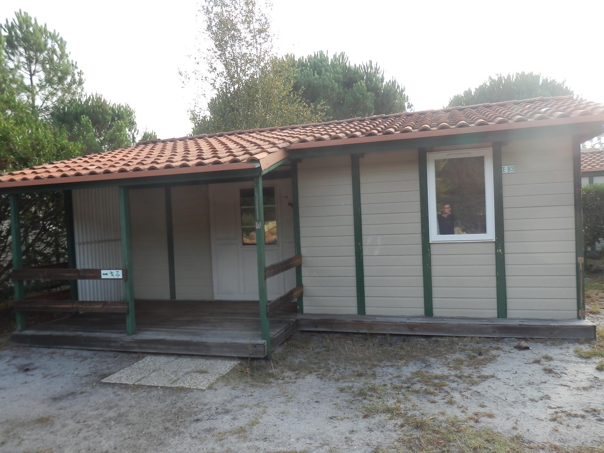 Casa Prefabricada Barata Malaga De Canexel De 45 M2 Color Marron