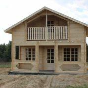 Casa de madera Malaga en varias medidas, estas de 96-98 m2 por 19 995 euros